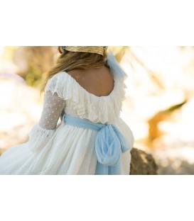 Vestido de comunión Antonella Bleu