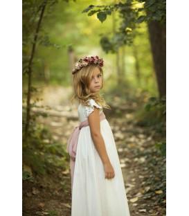 Vestido de comunión Eliette Rose