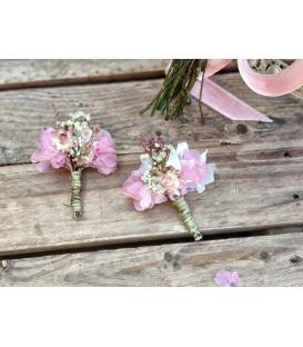 Prendidos de flores preservadas