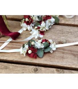 Pulsera de flores Silvana